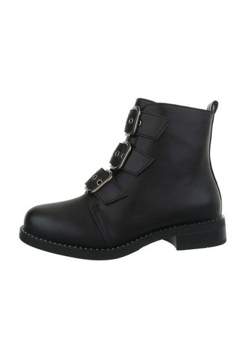 Neckermann damen klassische stiefel schwarz A119