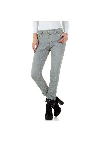 Mozzaar jeans femme gris KL-J-GS002