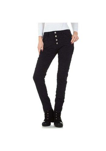 Mozzaar dames jeans zwart KL-J-GS002
