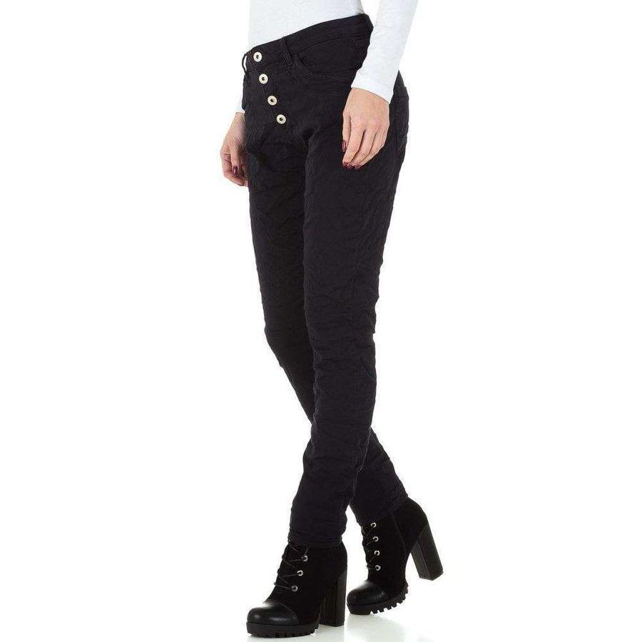 dames jeans zwart KL-J-GS002