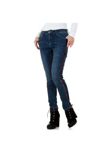 Mozzaar dames jeans blauw KL-J-C9988
