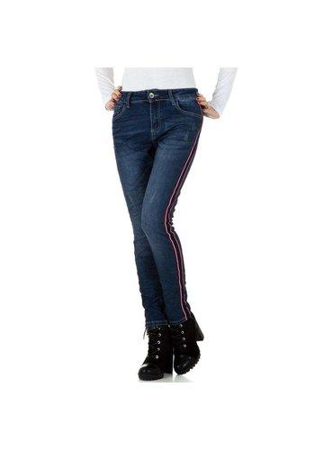 Mozzaar dames jeans blauw KL-J-C9960
