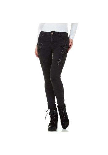 Mozzaar jeans femme gris foncé KL-J-C9719