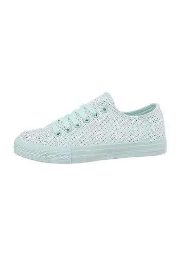 Neckermann dames schoenen blauw R62-7