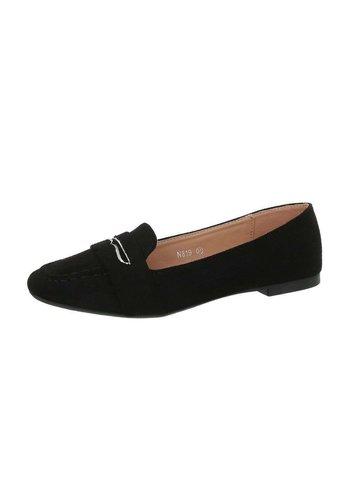 Neckermann dames pantoffel zwart N819