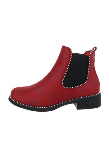 Neckermann damen chelsea stiefel burgund WD8003-08