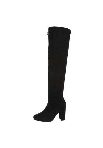 Neckermann dames hoge laarzen zwart TH6010-07