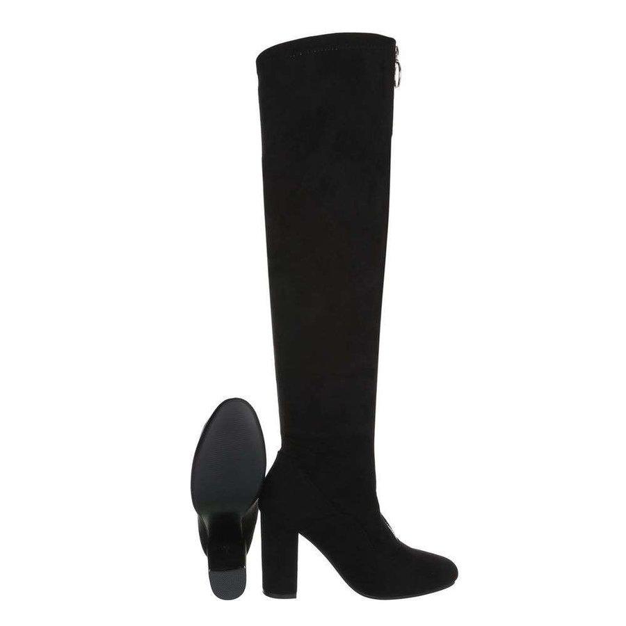 bottes hautes dames noir TH6010-07