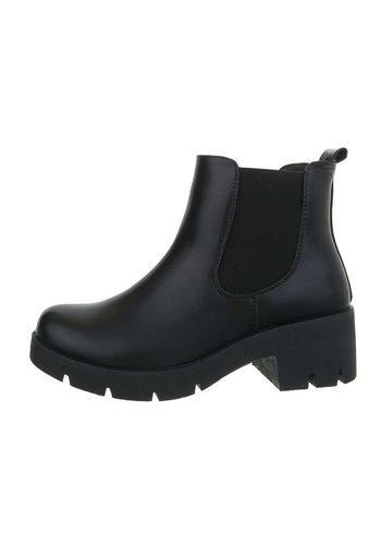 Neckermann Damen Chelsea Boots schwarz DGLJ-2