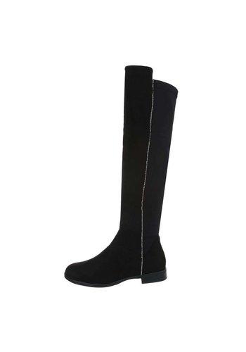Neckermann dames laarzen zwart 0-277