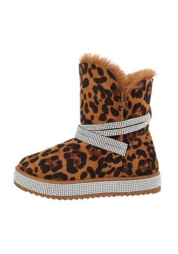 Neckermann damen klassische stiefel leopard KB-096