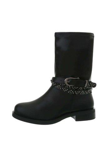 Neckermann damen klassische stiefel schwarz S1683