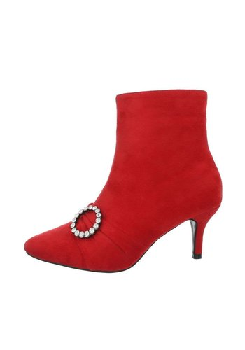 Neckermann bottes pour dames rouge F776