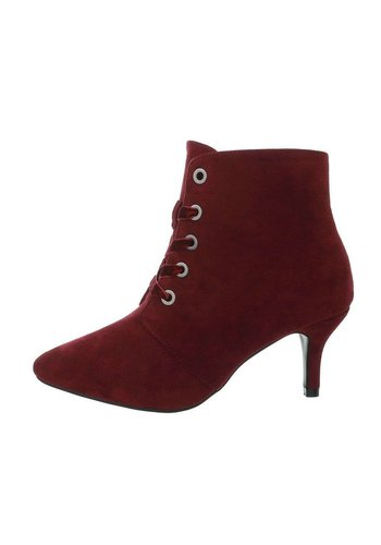 Neckermann Bottines femme bordeaux A390-2