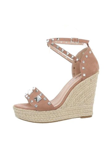 Neckermann dames wedges roze L51045