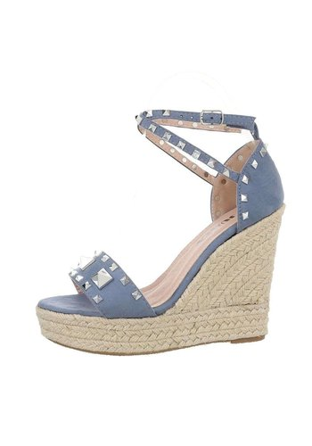 Neckermann dames wedges jeans 	L51045