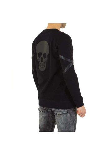 Neckermann heren sweater zwart KL-H-VSSA3
