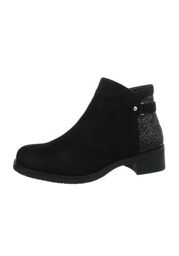 Neckermann damen klassische stiefel schwarz LX1570-80