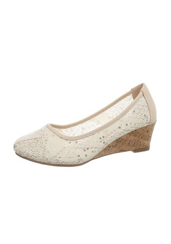Neckermann dames pumps goud 330
