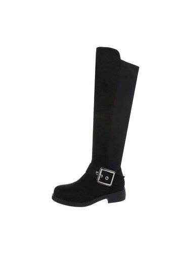 Neckermann dames laarzen zwart 0-279