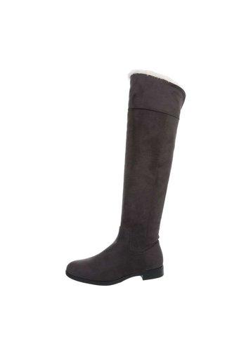 Neckermann dames laarzen grijs 0-208