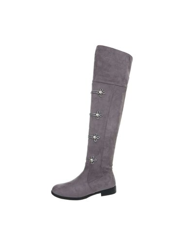 Neckermann dames laarzen grijs 0-205A