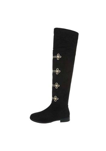 Neckermann dames laarzen zwart 0-205A
