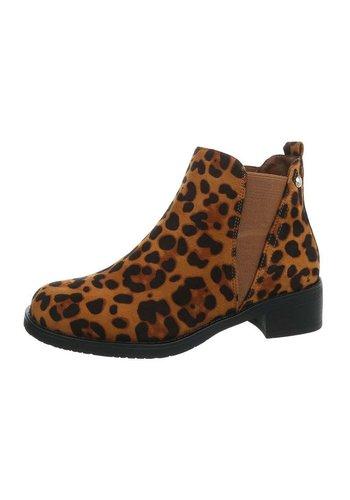 Neckermann damen chelsea stiefel leopard LX1570-78