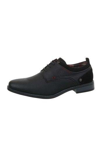 Neckermann chaussures business pour hommes noir EL0609