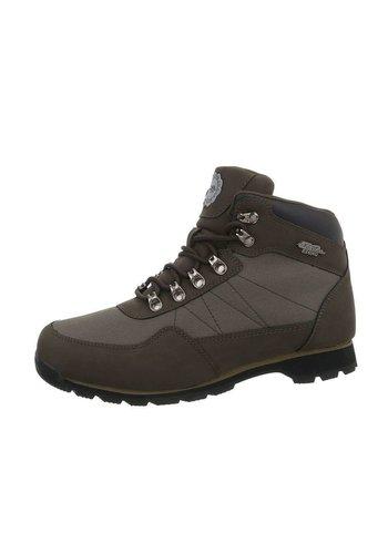 Neckermann chaussures pour hommes kaki 8813
