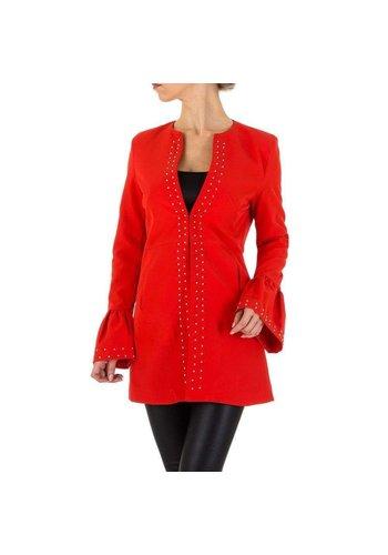 Neckermann veste femme rouge KL-WJ-8177
