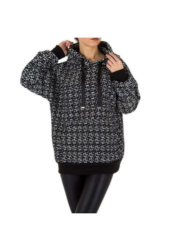 Neckermann dames sweater zwart KL-WJ-8126