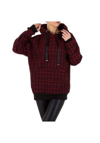 Neckermann dames sweater rood KL-WJ-8126