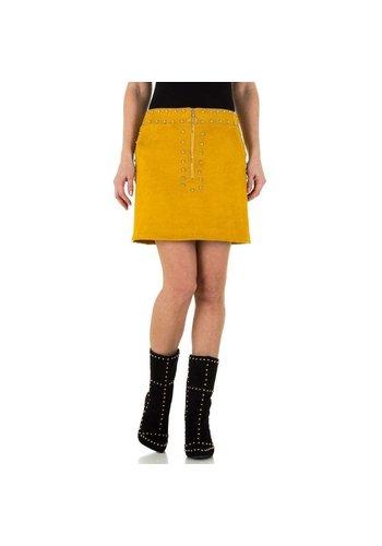 Neckermann Damen Rock - yellow