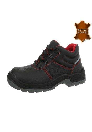 Neckermann chaussures de sécurité en cuir noir R002H