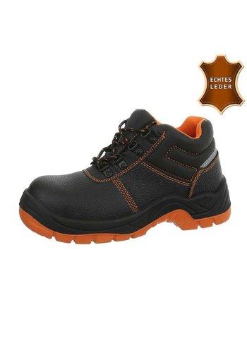 Neckermann chaussures de sécurité en cuir noir O003H