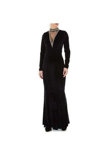 Neckermann dames jurk zwart KL-MU-1066