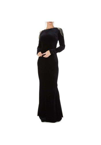 Neckermann dames jurk zwart KL-MU-1011