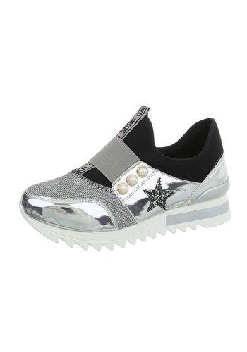 Neckermann chaussures de sport pour femme argent JU1335