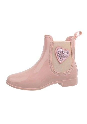 Neckermann dames chelsea boots blush HY-02