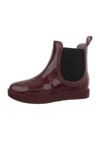 Neckermann dames chelsea boots burgundy HY-03