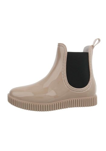 Neckermann dames chelsea boots nude HY-03