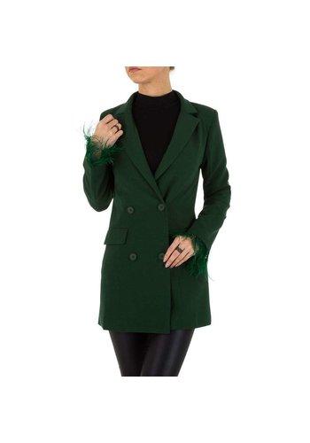 Neckermann veste femme verte KL-JW612
