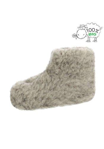 Neckermann chaussures de maison pour enfant gris PAN-1-402
