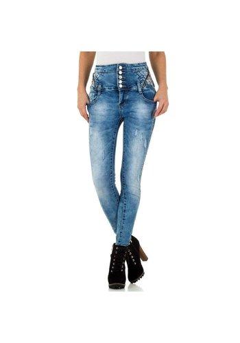 Neckermann dames jeans blauw KL-J-A845