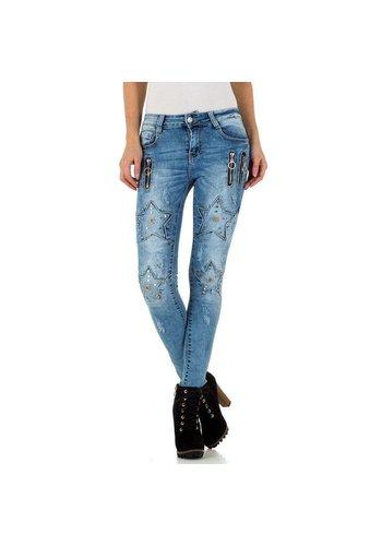 Neckermann dames jeans blauw KL-J-A822