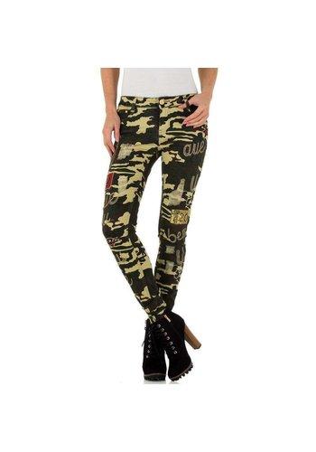 Neckermann dames jeans camouflage KL-J-A758
