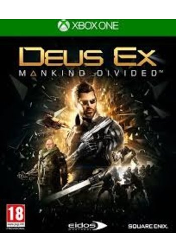 XBOX ONE Deus Ex: Mankind Divided Day One Edition - Xbox One