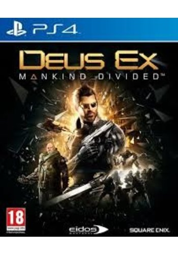 PS4 Deus Ex: Mankind Divided Day One Edition - PS4
