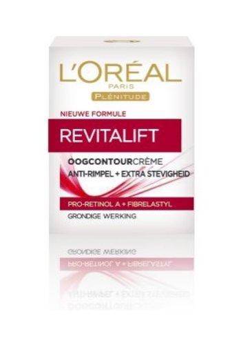 L'Oréal Paris Crème contour des yeux - Revitalift Anti Rides - 15 ml